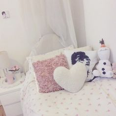 Bedrooms for a princess #pastelcupcakexo