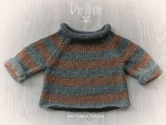 At last, cool ecological clothes – Babykleidung Stricken Baby Boy Knitting, Knitting For Kids, Baby Knitting Patterns, Baby Patterns, Knitting Projects, Baby Outfits, Kids Outfits, Pull Bebe, How To Purl Knit