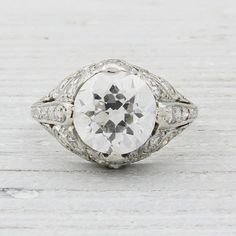 2.03 Carat Vintage Engagement Ring Erstwhile Jewelry Co. » WOW!