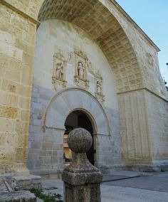 Entrée du monastère d'El Paular, Rascafría, communauté de Madrid, Castille, Espagne. #Paular #Rascafria #Castiila