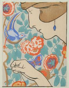 Embroidering, Phillip Needell