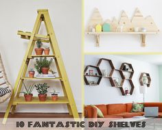 10 Fantastic DIY Shelves - The Paper Mama