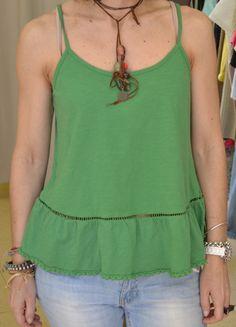 Echa un vistazo a este producto en Yodetiendas.com:  Top verde