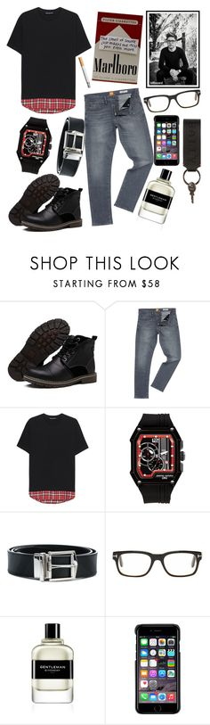 """""""boots"""" by fuochi ❤ liked on Polyvore featuring HUGO, Neil Barrett, Jorg Gray, Burberry, Tom Ford, Givenchy, County Of Milan, Bally, men's fashion and menswear"""