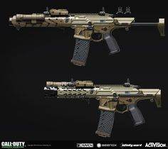 ArtStation - Weapon concept for Call of Duty: Modern Warfare Remastered. Sci Fi Weapons, Weapon Concept Art, Weapons Guns, Guns And Ammo, Special Forces Gear, Battle Rifle, Future Weapons, Arsenal, Assault Rifle