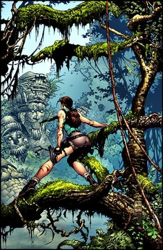 Tomb Raider •David Finch
