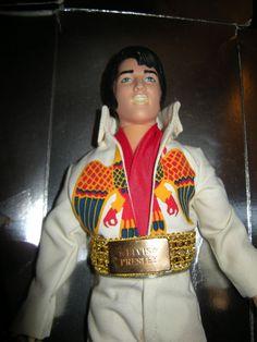 Vintage 1984 Elvis Presley Eagle Outfit, Eugene Doll, Endorsed by Graceland,