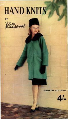 The Vintage Pattern Files: 1960's Knitting - Villawool Autumn Winter