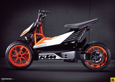KTM E-Speed electric scooter.