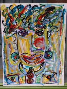 """""""A FACE IN THE CROWD"""" By Royston du Maurier-Lebek 2017"""