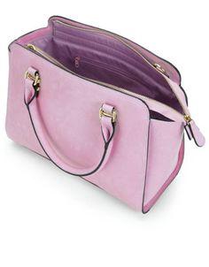 Georgia Winged Handheld Bag   Purple   Accessorize