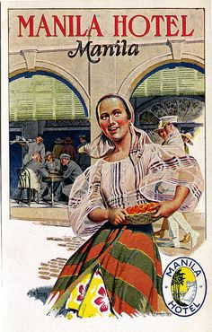 Manila Hotel: The Golden Years — Positively Filipino Philippines Culture, Manila Philippines, Philippines Travel, Filipino Art, Filipino Culture, Chinese Culture, Vintage Advertisements, Vintage Ads, Filipino Fashion