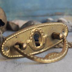 vintage escutcheon... key hole plate     Sept 10 by CoolVintage