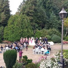 awesome vancouver wedding The sun came out just in time for the ceremony. Congratulations to Tina + Casey! by @cecilgreenparkhouse  #vancouverwedding #vancouverweddingvenue #vancouverwedding by admin
