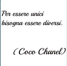 to be unique must be different Words Quotes, Love Quotes, Inspirational Quotes, Sayings, Italian Phrases, Italian Quotes, Chanel Party, Language Quotes, Life Rules