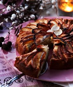 5 delikate desserter med æbler | ISABELLAS Danish Food, Sugar Rush, Ricotta, Apple Recipes, Sweet Tooth, Steak, French Toast, Cheesecake, Muffin