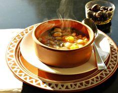 Bean Soup, Chana Masala, Lentils, Spinach, Main Dishes, Stuffed Mushrooms, Beans, Vegetarian, Diet