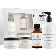 New at #Sephora: Philosophy Miracle Worker Miraculous Skin Collection #skincare #SkincareIQ