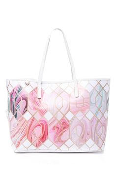 5d49f5d847f Aamy Sea of Clouds Canvas Tote New Work, Ted Baker, Clouds, Sea,