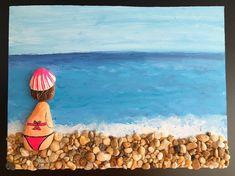 Bye bye summer  #stonepainting #seastone #deniztasi #tasboyama #pebbleart