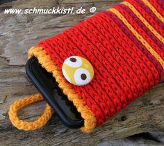 OktoberZinnober Handytasche Smartphone von www.Schmuckkistl.de auf DaWanda