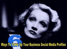 6 Simple Ways To Vamp Up Your Social Media Profiles http://socialmediarevolver.com/6-ways-vamp-up-your-social-media-profiles/