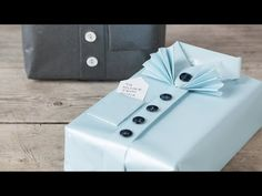 DIY : Gift wrapping idea by Søstrene Grene - YouTube