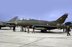 F-100 Super Sabre: Royal Danish Air Force F-100F GT-976 RAF Greenham Common | Flickr - Photo Sharing!