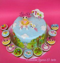 LALALOOPSY  CAKE AND CUPCAKE