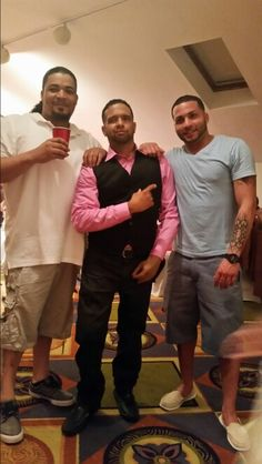 Chilling in my brother from another mother baby shower