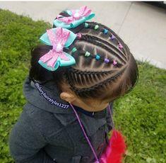 Toddler Braided Hairstyles, Toddler Braids, Natural Hairstyles For Kids, Braids For Kids, Little Girl Hairstyles, Easy Hairstyles, Natural Hair Styles, Gymnastics Hair, Cute Toddlers