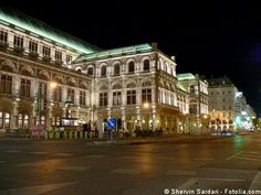 The famous Vienna Staatsoper