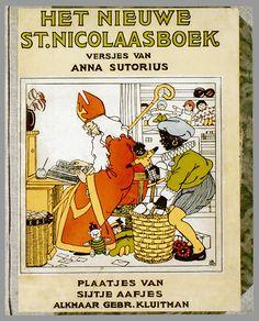Het nieuwe St. Nicolaasboek / versjes van Anna Sutorius ; plaatjes van Sijtje Aafjes