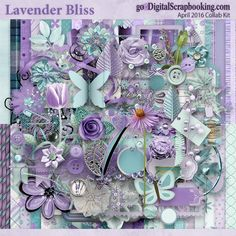 Lavender Bliss - April 2016 Monthly Collab Kit