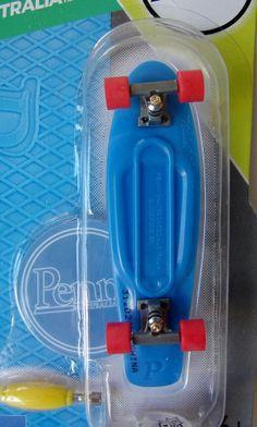 TECH DECK Fingerboard Penny Australia  3/8  Blue   96mm