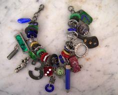 industrial chic charm bracelets
