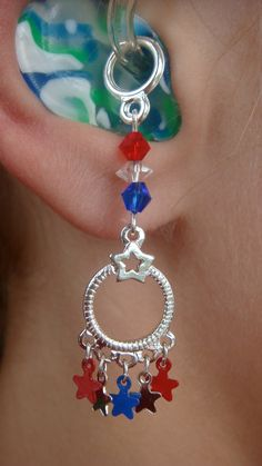 Cascading Peace Hearing Aid Charms or Earrings by HayleighsCharms, $12.00