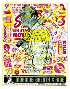 Morning Breath - Doug Cunningham y Jason Noto. En 1996, los dos trabajaron juntos en el departamento de diseño interno del Think Skateboards en San Francisco. Allí, comenzó un estilo de colaboración que los llevaría a la próxima década.  Cunningham y Noto formalizaron su asociación con la creación de Morning Breath, Inc, un estudio boutique ubicado en Brooklyn, NY.   http://morningbreathinc.com/