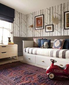 Timeless Boy's Bedroom | House & Home    - The KormendyTrott Team | Century 21 Miller Real Estate Oakville #MasculineBedding