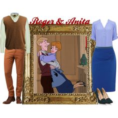 """Roger & Anita"" by merahzinnia on Polyvore"