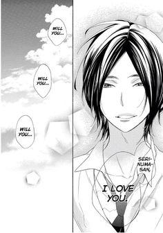 Watashi ga Motete Dousunda - Kiss him, not Me #manga part 3