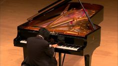 """Pianist Nobuyuki Tsujii bursts into tears when he plays at Carnegie Hall his own composition """"Elegy for the Victims of the Tsunami of March 11, 2011 in Japan""""."""