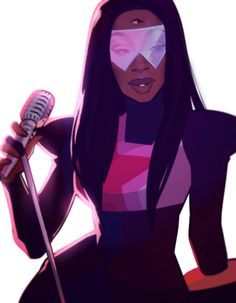asieybarbie's art of garnet from steven universe Garnet Fanart, Garnet Steven, Black Girl Art, Black Art, Universe Art, Save The Day, Animal Quotes, Princess Zelda, Teen Titans