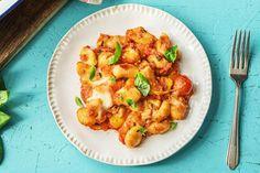 Gnocchi-Paprika-Mozzarella Auflauf