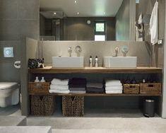 Bathroom in concrete