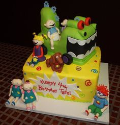 deviantART: More Like Curious George Cake by gertygetsgangster