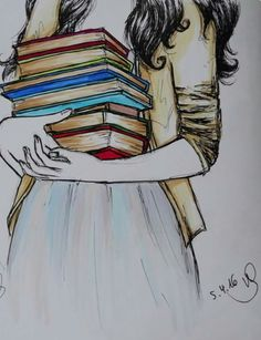 New Quotes Book Lovers Bookish 32 Ideas I Love Books, Good Books, Books To Read, Book Drawing, Drawing Quotes, Girl Reading, Reading Books, Reading Art, World Of Books