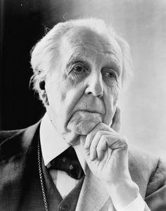 """Frank Lloyd Wright Architecture  """"Studia la natura, ama la natura, stai vicino alla natura. Non ti tradirà mai."""""""