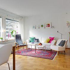 Love it! Un apartamento de 45 metros muy bien distribuido