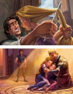 Rapunzel and flynn rider - tangled Disney Pixar, Film Disney, Disney Memes, Disney Fan Art, Disney Animation, Disney Cartoons, Disney Magic, Disney And Dreamworks, Flynn Rider
